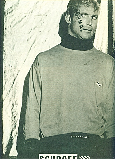 1986 SCHROFF Clothing AD Photo by KLIMEK (Image1)