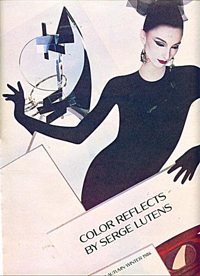 1986 SERGE LUTENS Fall FASHIONS AD (Image1)