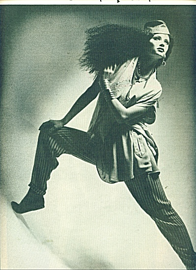 1986 Laise Adzer  ad STUNNING MODEL (Image1)