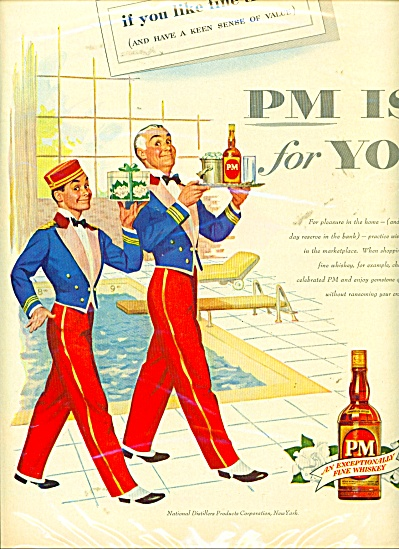 Pm Fine Whiskey Ad