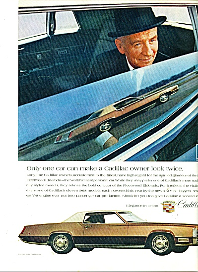 Cadillac Motor car ad - 1967 (Image1)