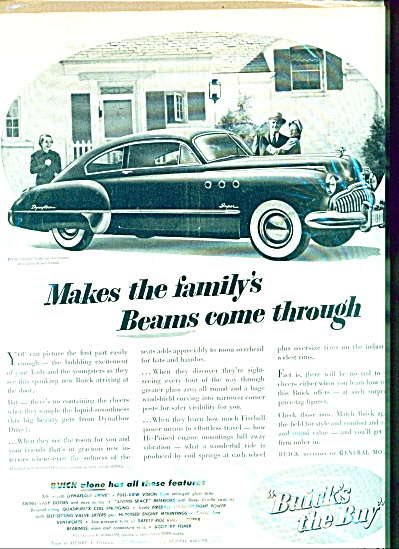 Buick automobile ad - 1949 (Image1)