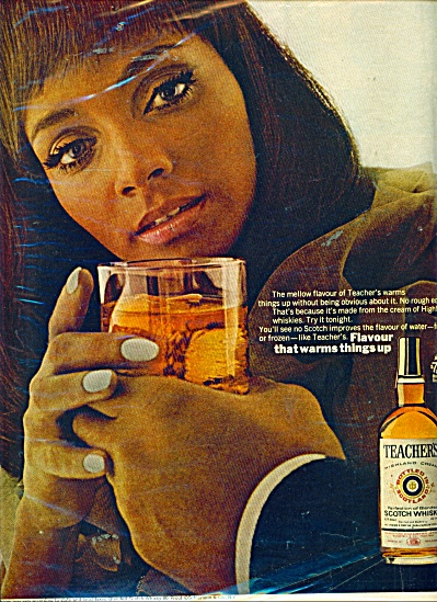 Teacher's Scotch whisky ad (Image1)
