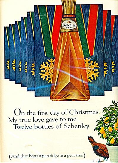 Schenley reserve ad - 1966 (Image1)