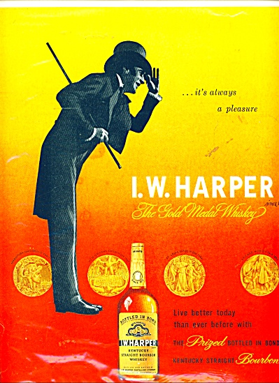 I.W. Harper Kentucky whiskey ad (Image1)