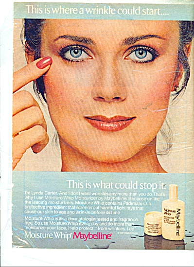 LYNDA CARTER Maybelline Movie STAR AD (Image1)