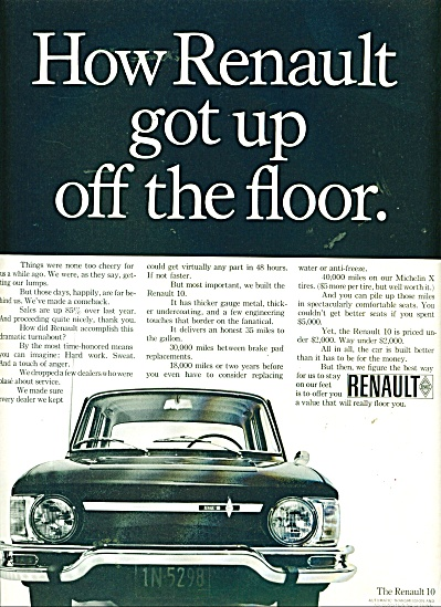 Renault automobile ad (Image1)