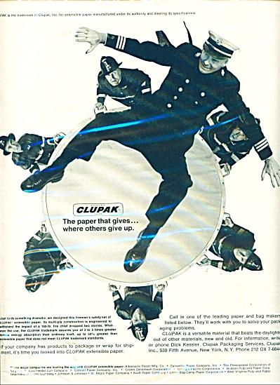 Clupak paper ad  - 1965 (Image1)