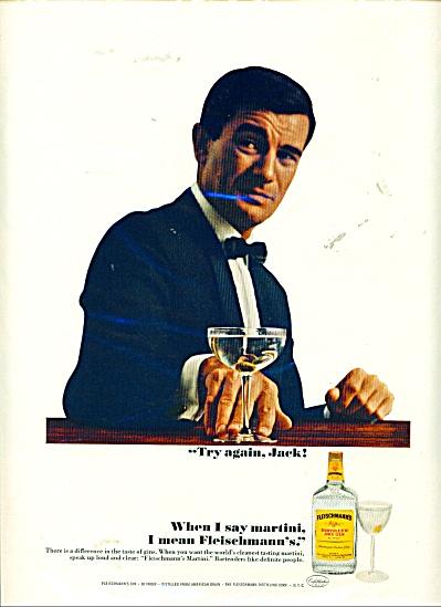 Fleischmann's dry gin ad (Image1)