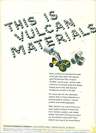 Vulcan Materials company ad - 1965 (Image1)