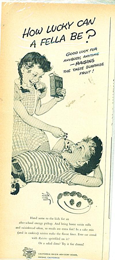 California Raisin Advisory board ad 1 956 (Image1)