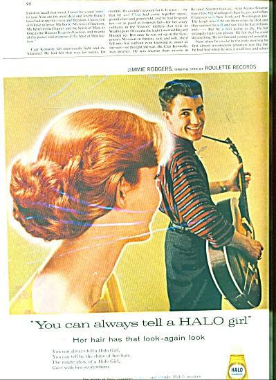 Halo shampoo ad - (Image1)