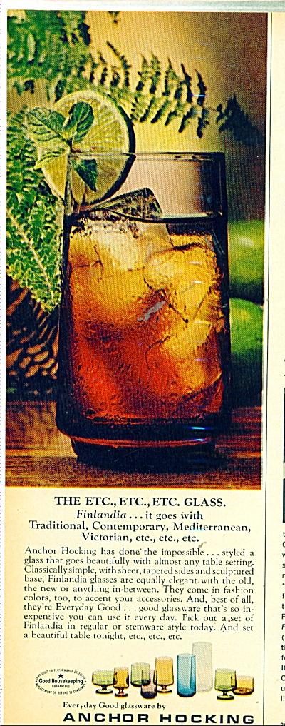 Anchor Hocking glassware co. ad   1971 (Image1)