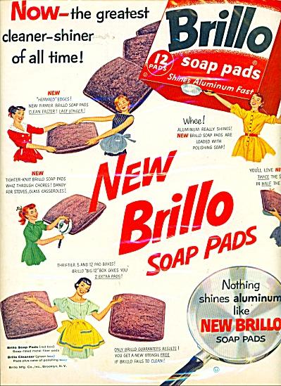 Brillo soap pads ad (Image1)