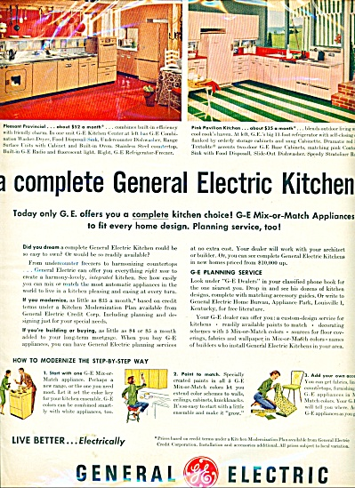 General Electric kitchen ad (Image1)