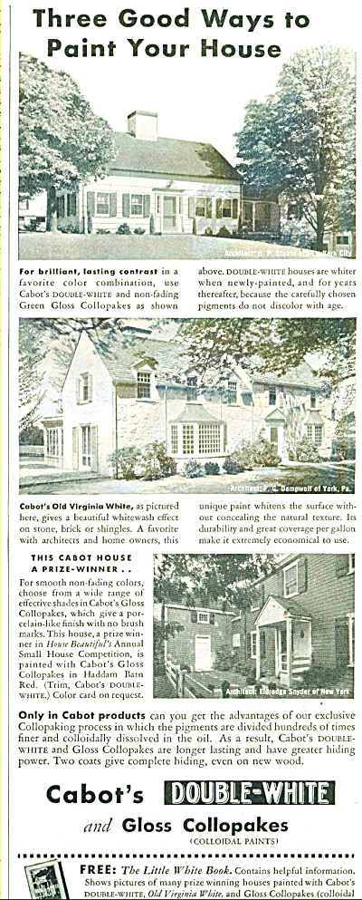 Cabot's double white and gloss collopakes ad (Image1)