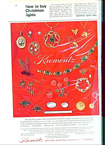 Krementz jewelry Ad  1972 (Image1)