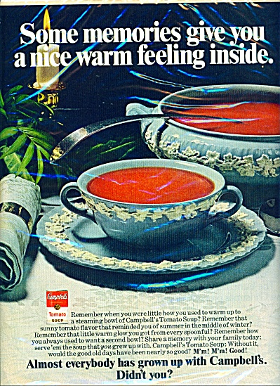 Campbell's soups ad 1972 (Image1)