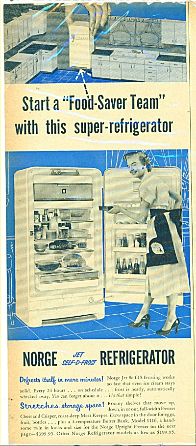 New Electrolux  Ad   1953 (Image1)