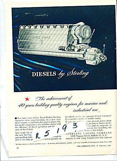 Diesels by Sterling ad - 1944 (Image1)