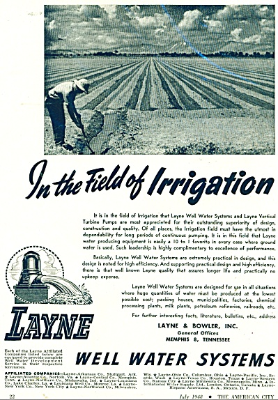 Well water systems ad - 1948 (Image1)