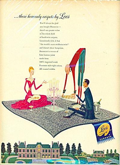 Lees Carpets ad - 1949 (Image1)