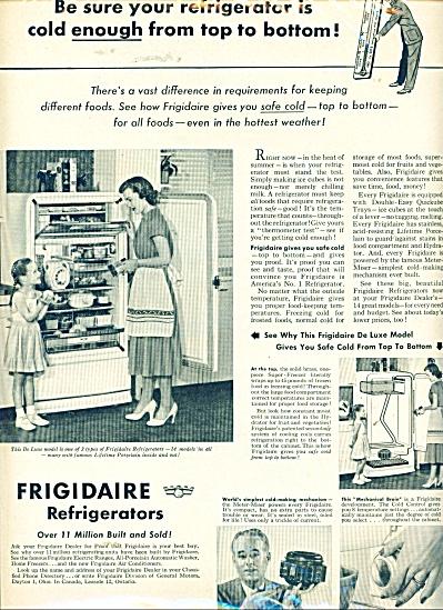 1949 Frigidaire refrigerators ad 1949 (Image1)