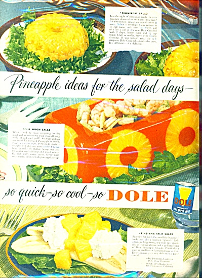 Dole pineapple juice ad   1949 (Image1)