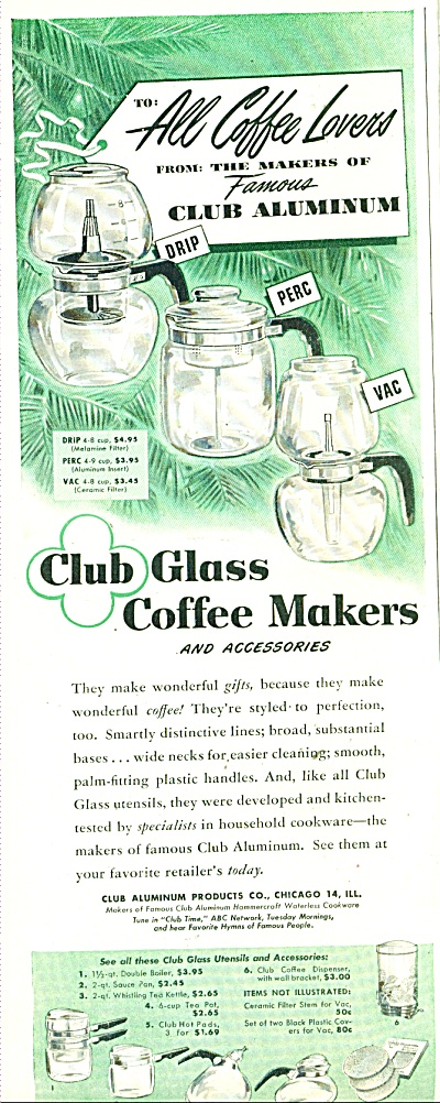 Club Glass coffee makers and accessories - 49 (Image1)