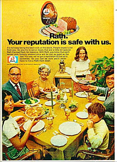 Rath's Ham ad   1972 (Image1)
