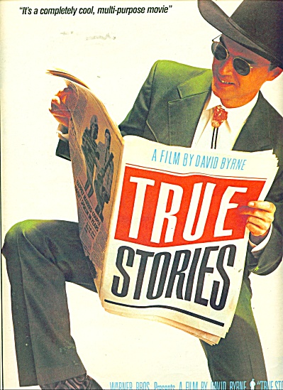 True Stories Movie ad   1986 (Image1)