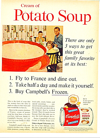 Campbells' frozen Cream of Potato soup ad  60 (Image1)