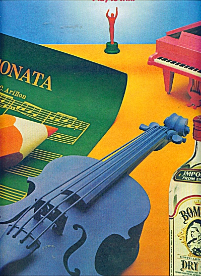Bombay Dry Gin ad - 1986 (Image1)