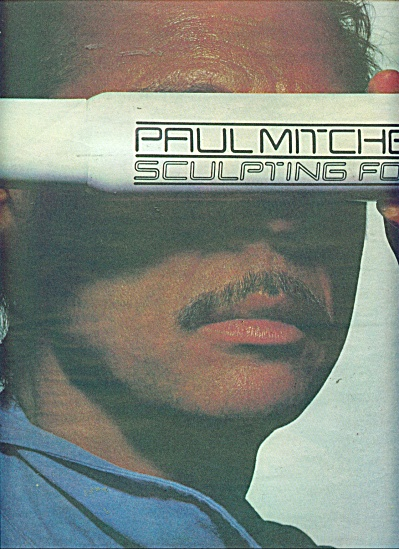 Paul Mitchell sculpting foam ad  1986 (Image1)