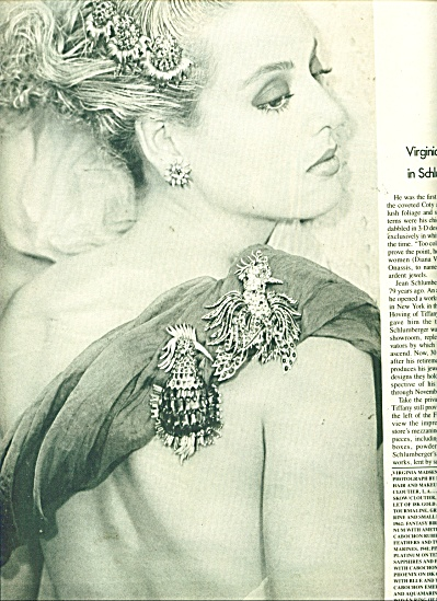Virginia Madsen in Schlumberger.  ad   1986 (Image1)