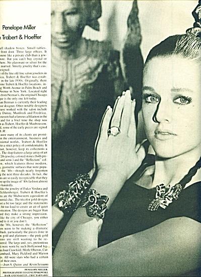 Penelope Miller in Trabert & Hoeffer ad  1986 (Image1)