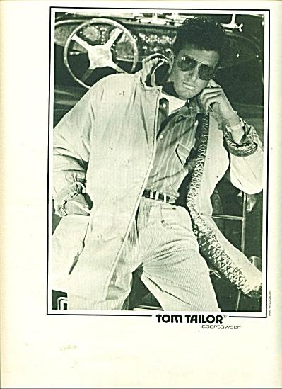Tom Tailor - sportswear ad  - 1986 (Image1)