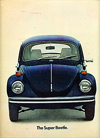 The Super Beetle ad (Image1)