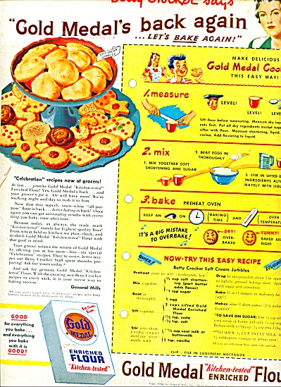 Gold Medal flour ad (Image1)