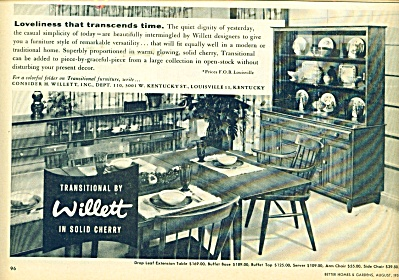 Transitional by Willett ad -  1959 (Image1)