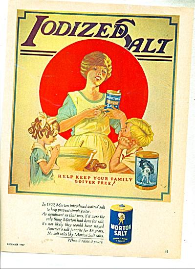 Morton Salt  ad -  1967 (Image1)