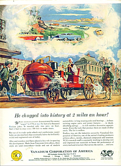 Vanadium Corporation of America ad - 1956 (Image1)
