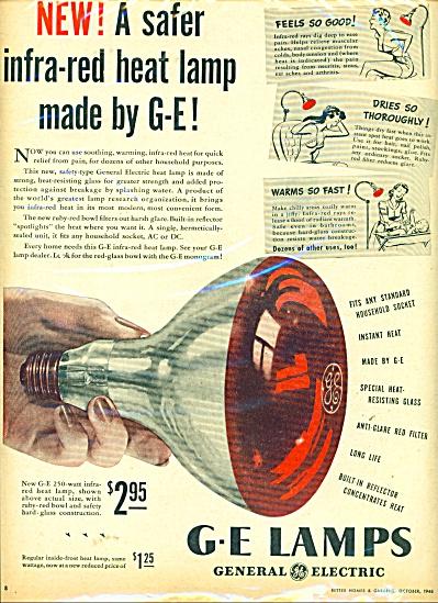 G E Lamps ad - 1946 (Image1)