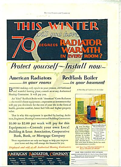 1928 American Radiator company ad (Image1)