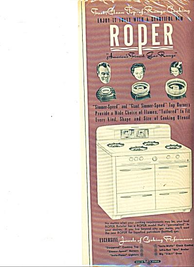 Roper stove ad  - 1949 (Image1)