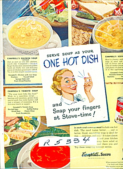 Campbell's soups ad (Image1)