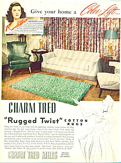 Charm Tred Mills  ad - 1948 (Image1)