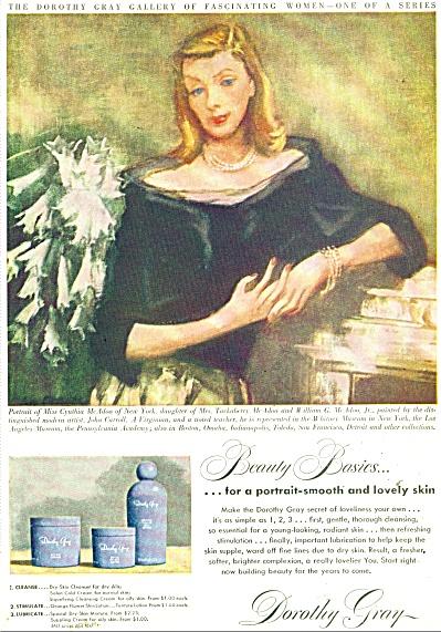 1948 DOROTHY GRAY Cynthia McAdoo NY AD (Image1)
