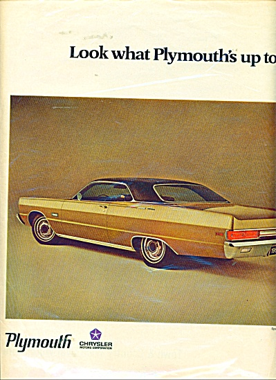 Plymouth automobile ad SPORT FURY (Image1)