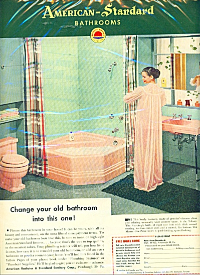 American Standard bathrooms ad (Image1)